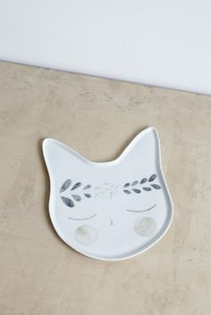 LOVELY CAT PLATE FRANCKIE - Studio Oink