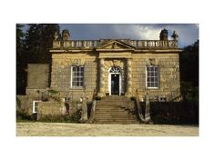 """""""England's smallest stately home"""", Ebberston Hall, built in 1718 in the Palladian style by architect Colin Campbell."""