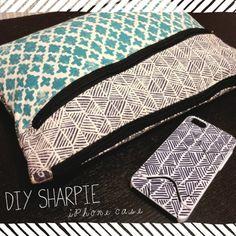 DIY Sharpie Ideas - doodle iphone case