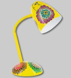 PYLONES - Desk lamp GLOBE TROTTER dahlia