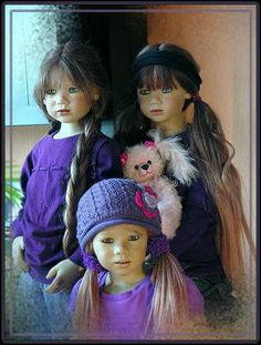 3kk63[1] Reborn Dolls, Reborn Babies, Dolls Dolls, Blythe Dolls, Annette Himstedt, Realistic Baby Dolls, Vinyl Dolls, Beautiful Dolls, Sculpting