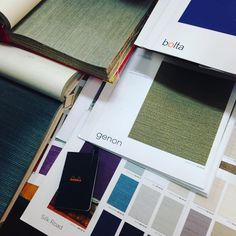 Chris McGimsie on Instagram: Digging through wallpaper samples for exciting new projects!...