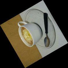 Sopa de feijão com queijo