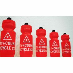 City+County Red Bottles