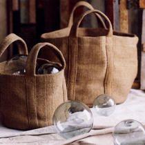 round jute bags