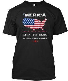 World War Champ Patriotic July Shirt Black T-Shirt Front Today's Schedule, Champs, World War, Mens Tops, T Shirt, Black, Activewear, Supreme T Shirt, Tee Shirt