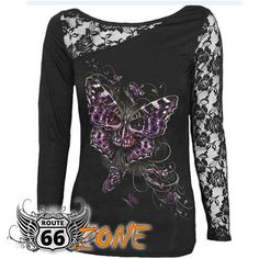 Patchwork Dentelle Up T-shirt Chemises Blusas Crâ Sexy Tops Femmes Mode T-shirts Pulls Mujer Dentelle Blusas Long Sleeve Tee Shirts, Sexy Shirts, Long Sleeve Tops, Chemises Sexy, Lace Up T Shirt, Blouses For Women, T Shirts For Women, Lace Outfit, Style Retro