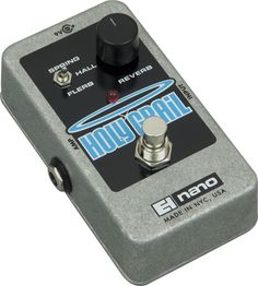 Nano Holy Grail Reverb Guitar Pedal.. an essential part of my collection/sound