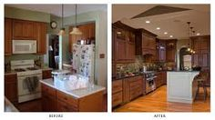 Image result for renovate open kitchen before after
