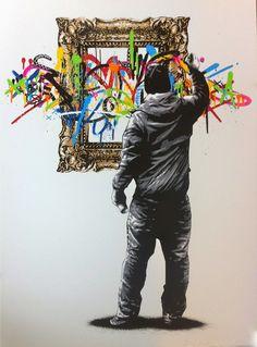 Street Art - Martin Whatson