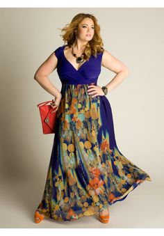 Plus Size Valencia Maxi Dress image