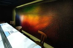 My Hell Of A Life – Colorful Creative Artwork /// Black Lab Architects Create a 14-Foot Wall out of 12,000 Color Pencils