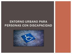 Mobiliario para personas con discapacidad