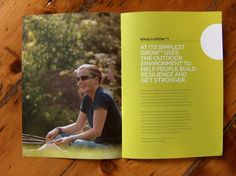 Grow Brochure by Heedi Design, via Behance