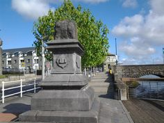 The Treaty Stone - Limerick, Ireland Limerick Ireland, Limerick City, Irish Limericks, Roisin Dubh, Adare Manor, Southern Ireland, Famous Landmarks, Emerald Isle, Lush Green