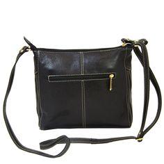 7bb2d2029 BOLSA TRANSVERSAL COURO STAR BAG 1881 PRETO. . Só Courus Uma bolsa mais  linda que