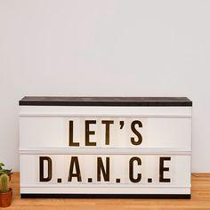 LIGHT BOX DISPONIBLE DANS LA BOUTIQUE ! Boutique, Lets Dance, Inspirer, Lightbox, Ajouter, Home, Dimensions, Images, Decor
