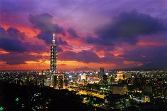 Taipei. This has gotta be the coolest city ever! A friend of mine lives here, and he's told me alot about it.