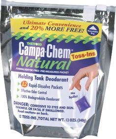 Thetford Campa-Chem Natural Toss-In Packets : Cabela's