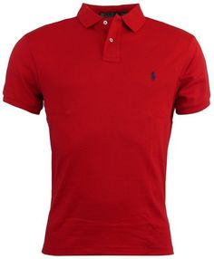 Looking for the perfect Polo Ralph Lauren Cotton Mens Custom Fit Interlock  Polo Shirt - L - Red? Please click and view this most popular Polo Ralph  Lauren ...
