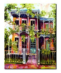 Garden District Fancy Giclee Print by Diane Millsap at Art.com