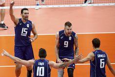 Com trio afiado, Itália passa pelo Irã  e enfrenta os EUA na semifinal…