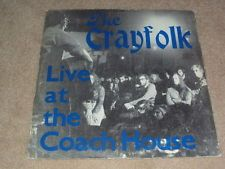 The CRAYFOLK.Live At The Coach House.Very Rare Private Press Folk LP.