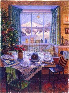 Home Illustration Old 41 Ideas For 2019 Old Time Christmas, Old Fashioned Christmas, Christmas Scenes, Christmas Mood, Christmas Pictures, Vintage Christmas, Merry Christmas, Christmas Breakfast, Illustration Noel