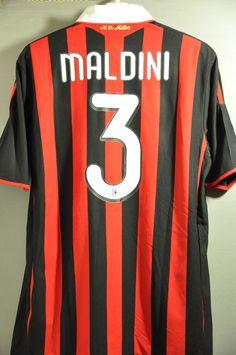 AC Milan Maldini Home Jersey Shirt Replica