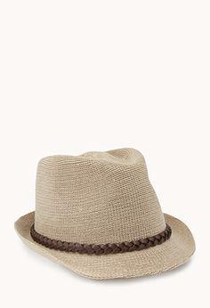 cheap fedora; remove leather thingie Gone Boho Fedora | FOREVER21 - 2000072285