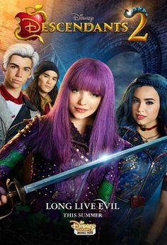 Descendants 2 Poster & Tease Released by Disney Channel