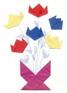 vouwen5 - Bloemen