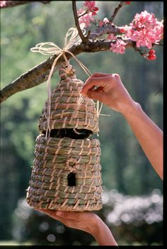 Bee Skep Birdhouse  $24.00 at Eleanor Brown Boutique