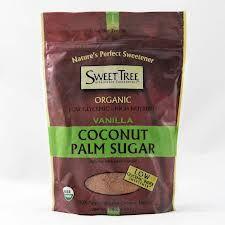 Sweet Tree Coconut Palm Sugar, Vanilla. http://affordablegrocery.com