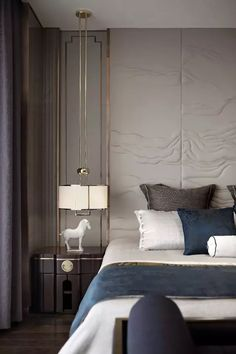 10 Exclusive Bedside Tables for your Master Bedroom Decor Discover master bedroom design ideas, curated by Boca do Lobo to Design Living Room, Modern Bedroom Design, Master Bedroom Design, Contemporary Bedroom, Modern House Design, Master Bedrooms, Bedroom Designs, Contemporary Classic, Luxury Master Bedroom