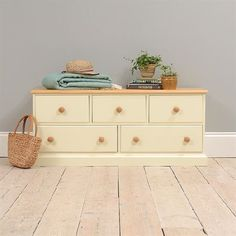 Winchester Painted 5 Drawer Lowboy 923.002 Quality wooden furniture at great low prices from PineSolutions.co.uk. Get Free Delivery and Exchanges on all orders. http://www.MightGet.com/january-2017-11/winchester-painted-5-drawer-lowboy-923-002.asp