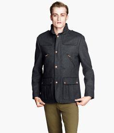 H&M US - Wool-blend Jacket - $99 - size 40R
