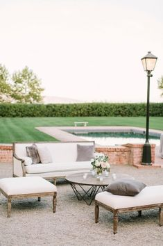 Venue: Beaulieu Garden; Flowers, Oak & The Owl; Planning and Event Design, Rosemary Events; Photo: The Edges Wedding Photography - California Wedding http://caratsandcake.com/BlairandJames