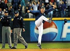 9-18-02.  In his most memorable ejection, Lou Pinella argues a call for more than 2 minutes, gets ejected, kicks his hat 2x, throws it 2x, has his 1b coach retrieve his hat then kicks it again, then uproots 1b and throws it twice.  He later claims he will send a tape of his kicks to the Tampa Bay Buccaneers to audition as their new kicker.