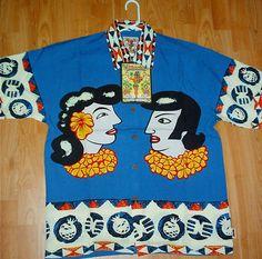 Caroparaiso Textile Patterns, Textiles, Skate Surf, Bowling Shirts, Afraid Of The Dark, Aloha Shirt, Vintage Hawaiian, Australian Fashion, I Love Fashion