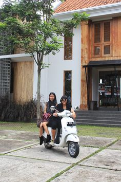 Our first day of Vespa Indonesia Journey around Bandung starts with checking in at a stylish theme hotel to visiting the coolest warehouse ever.