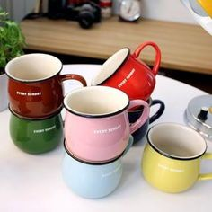 Buy 'LIFE STORY – 'EVERY SUNDAY' Mug' with Free International Shipping at YesStyle.com. Browse and shop for thousands of Asian fashion items from South Korea and more!
