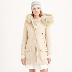 J.Crew - Chateau parka! If you like my pins, please follow me and subscribe to my new fashion channel! Let me help u find all the things that u love from Pinterest! https://www.youtube.com/watch?v=XSiQP5OFjXE&list=UUCP8TXebOqQ_n_ouQfAfuXw