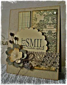 nedergaards scrapblog: Et smil...