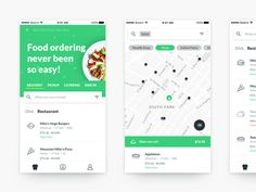 New Food App by Evgeniy Loktev #Design Popular #Dribbble #shots