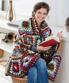 DIY: granny square blanket