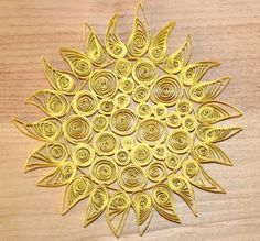 I thought I would have another go at paper quilling, this time a sun for the summer solstice. We have already made tea light lanterns for th...