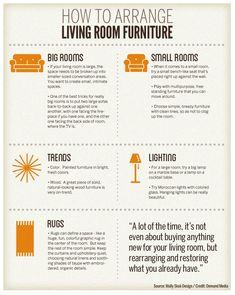 How to Arrange Living Room Furniture | eHow