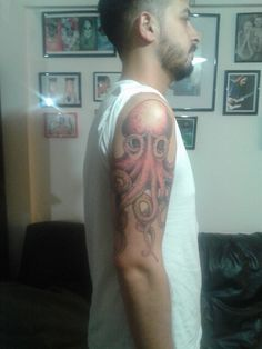 Tattoo#octopus#johnfrusciante