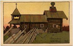 Zeichnung von Iwan Jakowlewitsch Bilibin (1876-1942)